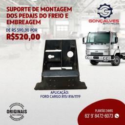 SUPORTE DE MONTAGEM DOS PEDAIS DO FREIO E DA EMBREAGEM ORIGINAL FORD CARGO