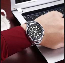 Relógio Curren Importado Original Aço Inox