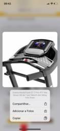 """Esteira NordicTrack CT 7i Pro IFTI Tela Smart HD de 7"""" até 16km/h Até 140kg"""