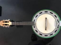 Banjo Rozini Cx Larga Elétrico Studio - Verde