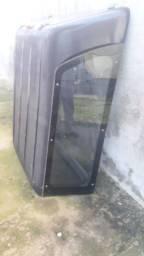Capota fibra S10 cabine dupla