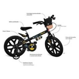 Bicicleta aro 16 batman bandeirante - Nova