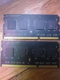Memória RAM 4gb (valor de cada)