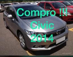Compro civic lxr 2014