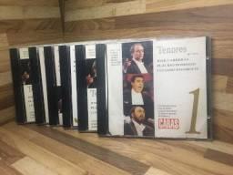 Coleção Completa Tenores 6 Cd's Revista Caras