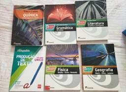 Kit Livros Moderna- Gramática, Literatura, Química....+ Sas