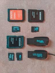 Cartão de Memória SanDisk/Samsung 2GB e 4GB