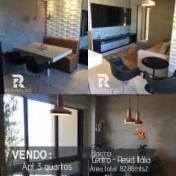 Vendo Apartamento 3 quartos Mobiliado. Centro, Luziânia-Go