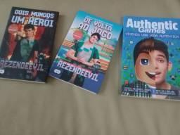 3 Livros: Rezende e Authentic