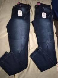 2 calça jeans Novas feminina