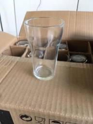 Copos de vidro