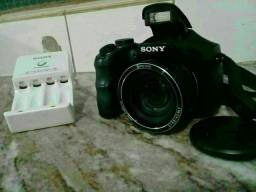 Câmera digital Sony semi profissional dsc h100 16.1