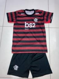 Conjunto Flamengo modelo 2018/2019