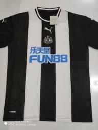 Camisa Newcastle Home Puma 19/20 - Tamanho: G