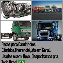 Peças em geral de Caminhão Usadas e Semi Novas