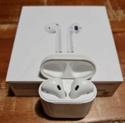 Air Pods Apple na caixa perfeito estado aceito cartão