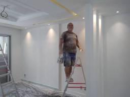 Pintor de acabamento e texturador