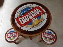 Conj. Mesa Brahma (Estilo barzinho)