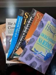 Coleção de livros Sherlock Holmes