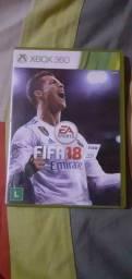 Jogo de Xbox 360 FIFA 18