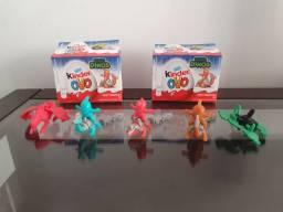 Coleção Kinder Ovo Dinos. 2020. 5 Brinquedos + 2 Caixas