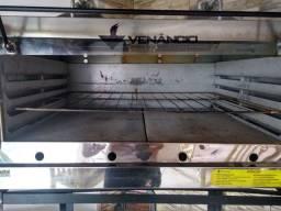 Forno Industrial a Gás Venâncio  Roma Inox com Infravermelho<br><br><br>