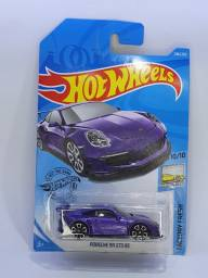 Porsche 911 GT3 RS - Roxo - Hot Wheels