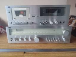 Receiver Cce Sr 2000 e Tape Deck CD 4040