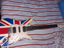 Guitarra Eagle St 002 (troco em uma floyd rose), (videos por whatsapp)