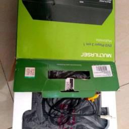 Aparelho DVD player 3 em 1 - Multilaser SP252
