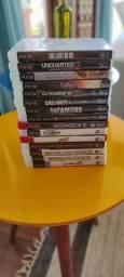 15 jogos de Playstation 3 - PS3