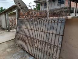 Portão de correr e portão de entrada