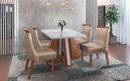 Mesa 4 Cadeiras Rubi