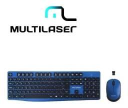 Teclado e mouse sem fio tc246 Multilaser