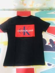 Camisetas Infantil Tommy Hilfiger e Calvin Klein