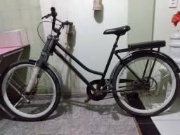 Bicicleta aceito cartão troco por celular