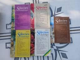 5 revistas SELEÇÕES de 1970.