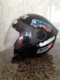 Capacete para Moto Aberto- Varginha (MG)-(35) 98826- 5019 (Whatsapp)
