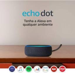 Amazon Echo dot 3° geração - Alexa - NOVO lacrado
