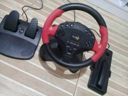 Manopla/volante de vídeo game