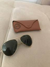 Óculos Ray-Ban aviador original