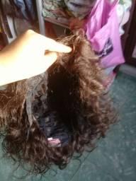 Peruca 350 cabelo curto cacheado natural ou troco por peruca cabelo liso zap *14