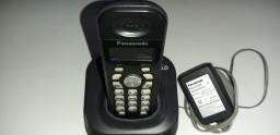 Telefone sem fio - Panasonic Modelo KX - TG 1381 LB - Excelente Estado