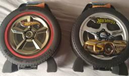 Maleta carros hot wheels guarda 36 carros