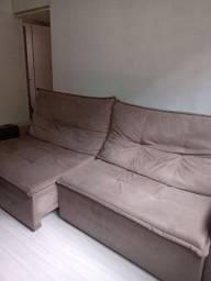 Sofa Retrátil 4 lugares usado