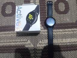 Galaxy Watch Active2 - com nota fiscal e caixa.