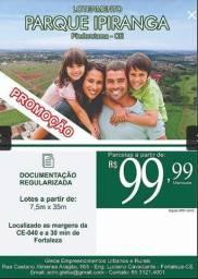 Loteamento Parque Ipiranga em Pindoretama