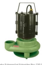 Bomba Submersivel De Água Schneider Bcs-c5 1/2 cv Mono 220v