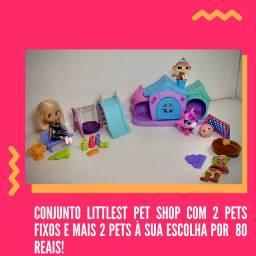 Conjunto Littlest pet Shop
