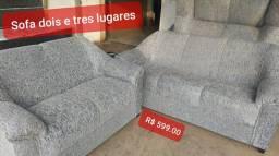 Promocao da semama sofa de dois e tres lugares pronto entrega
